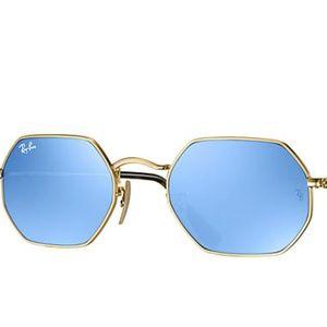 4e92d2239b Ray-Ban Accessories - Ray Ban Octagonal Flat lenses